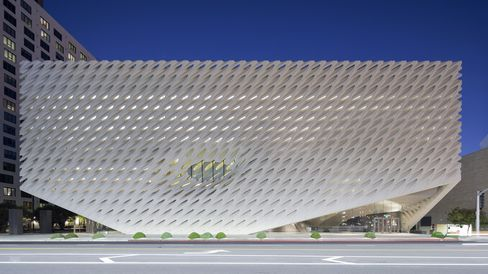 The Broad Museum in Los Angeles, CA