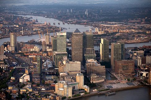 UK LONDON AERIALS