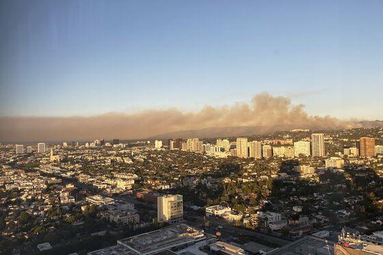 Dangerous Smoke Blankets California as Fires Rage Across State