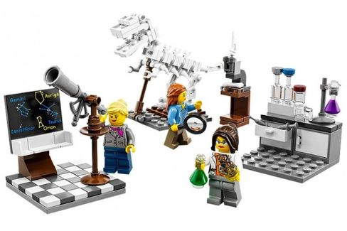 Smart Girls Prove Lucrative for Lego