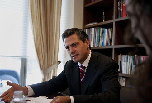 Mexico's Incoming President Enrique Pena Nieto