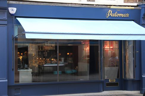 Palomar has a low-key exterior, yet this Soho restaurant is one of the hottest dining spots in London.
