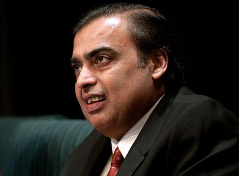 Reliance Industries Ltd. Chairman Mukesh Ambani
