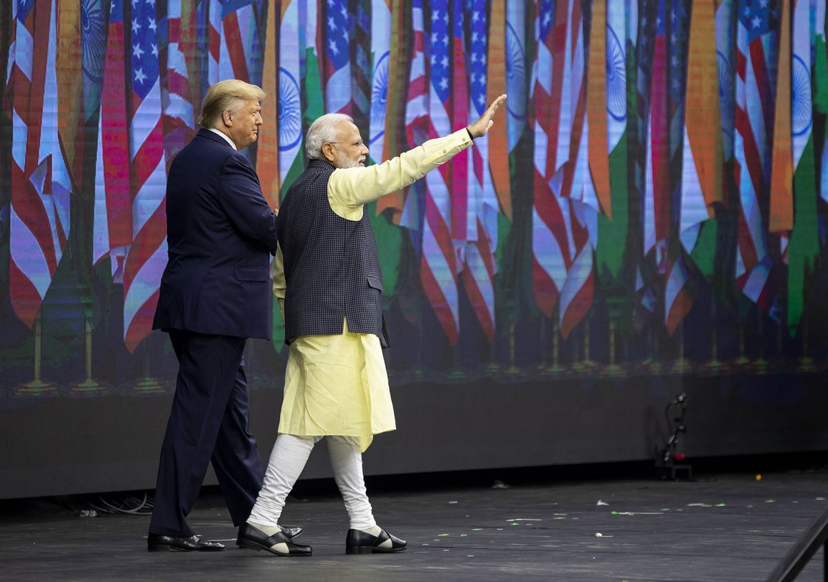 Trump Backs Modi on India's Need for 'Border Security'