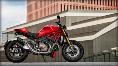 For decades Ducati used air-cooled engines in its Monsters, but this year introduced the water-cooled Testastretta 11° L-Twin 145-horsepower engine, which is the same one found in its aggressive Multistrada 1200 and Diavel models. Source: Ducati