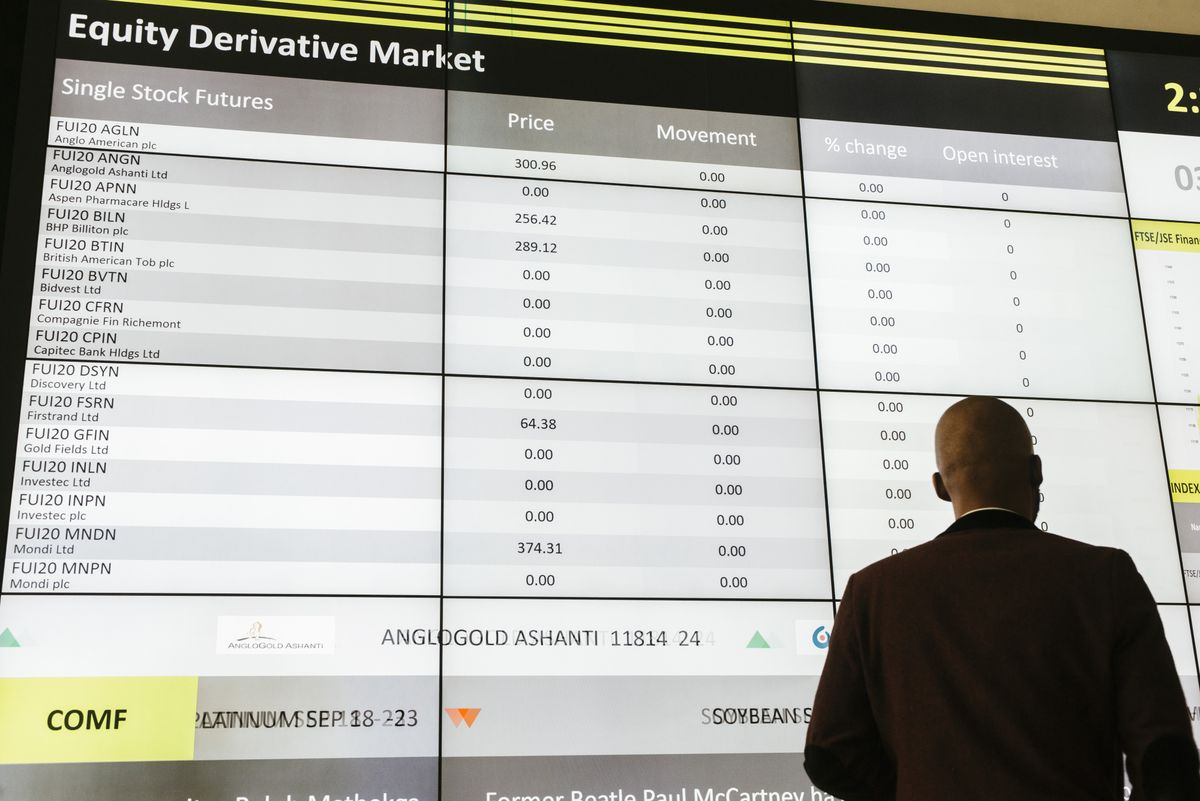 Virus Sell-Off Hits South African Stocks Hard on China Exposure
