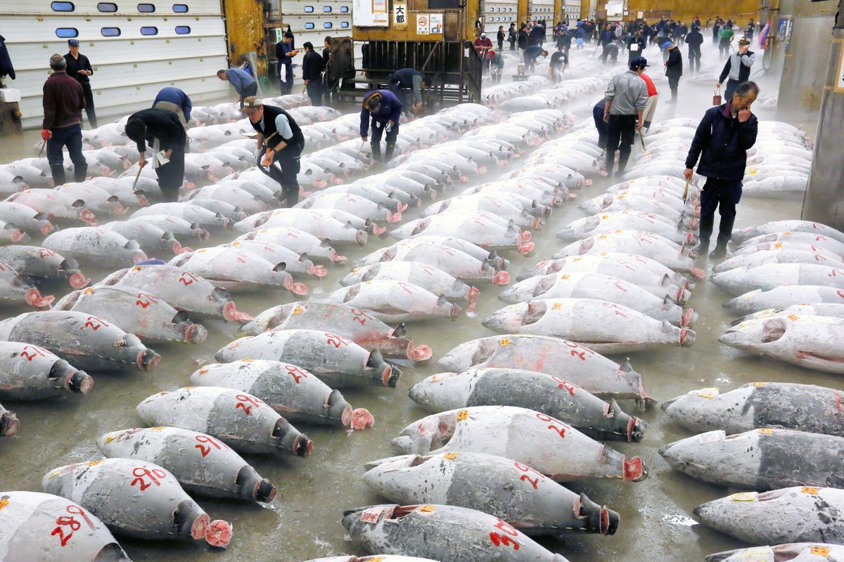 The World's Most Famous Fish Market Closes