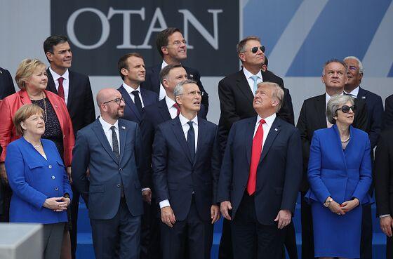 Trump Tilts at Europe. Congress Dithers.