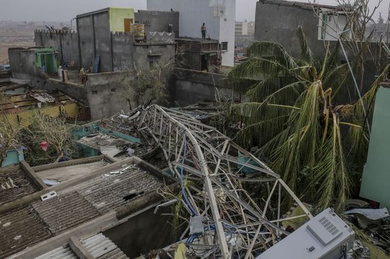 Cyclone-Ravaged India State Seeks $14 Billion for Reconstruction