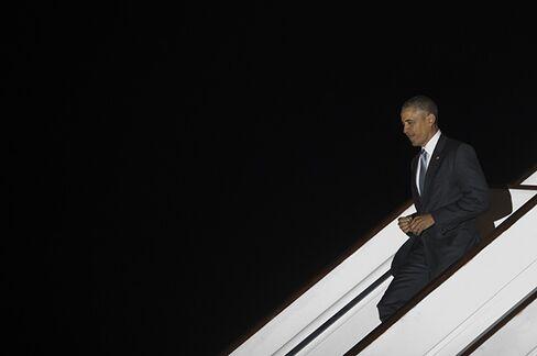 Obama arrives in U.K. on April 21.