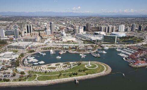 Long Beach Skyline