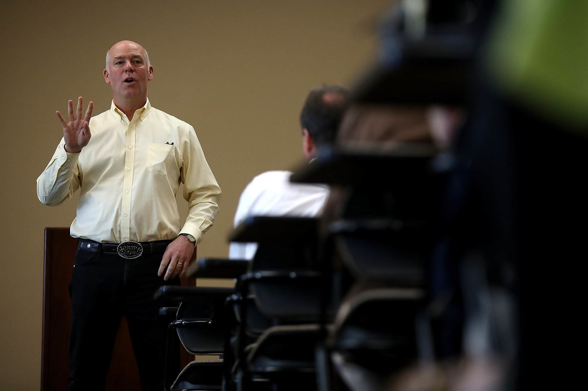 Montana Republican Wins U.S. House Seat After Assault Charge