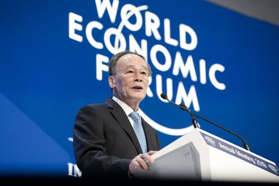 China's Vice President Uses Davos Speech to Offer Rebuttal of Trump