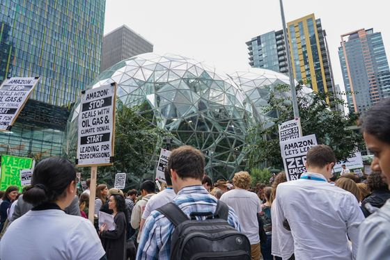 Amazon Threatens to Fire Climate Activists, Group Says