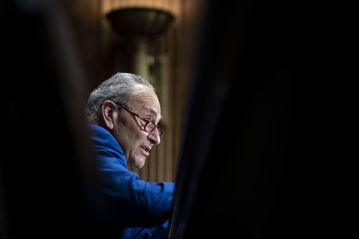 GOP to Block Schumer on Infrastructure Vote -- for Now