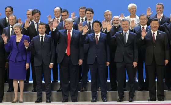 G-20 Leaders Give Nod to Trump in Watered-Down Trade Language