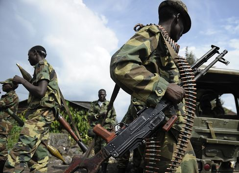 Congo Rebels Want Kabila to Meet Conditions Before Goma Pull-Out