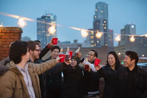 A Holiday Party Survival Guide, Business School Version