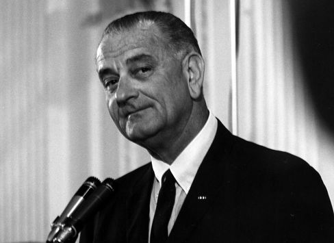 President Lyndon B. Johnson in 1965.