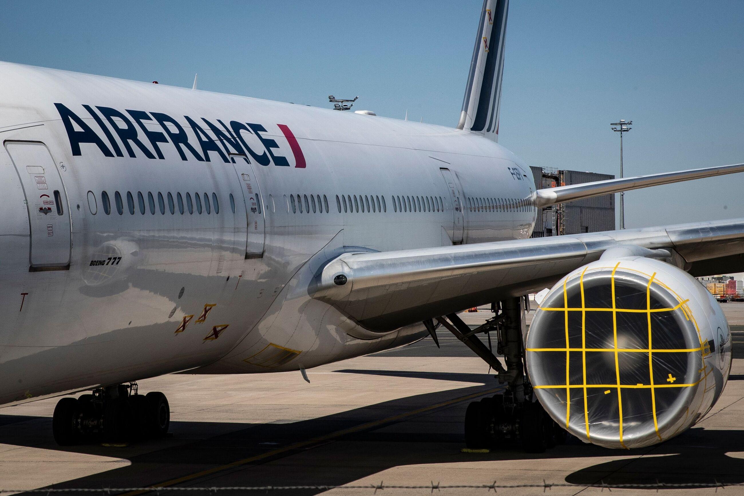 اقدام پلیس فرودگاه برای مصون ماندن هواپیمای جت از لانه کبوتر.