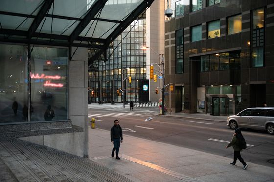 Toronto Orders Workplaces Shut to 'Slam Brakes' on Outbreaks