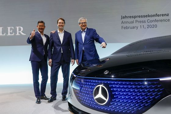 Daimler Sees Mercedes Margins Surging to Highest in Years