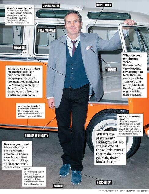 What I Wear to Work: Deutsch LA's Mike Sheldon