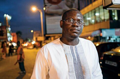 Ghanaian entrepreneur Bright Simons.