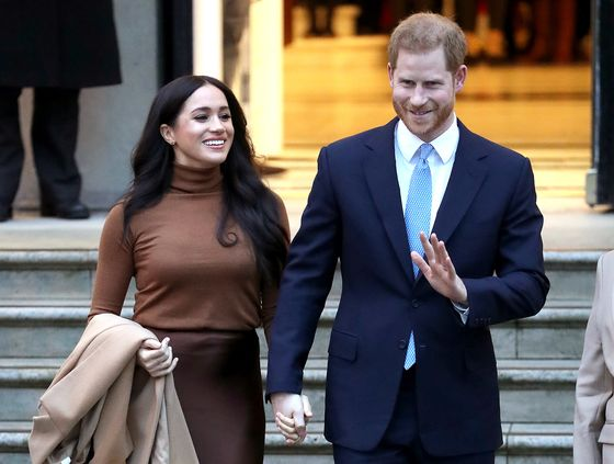 Prince Harry and Meghan Will Produce and Host Podcasts for Spotify