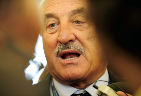 Brembo SpA Chairman Alberto Bombassei