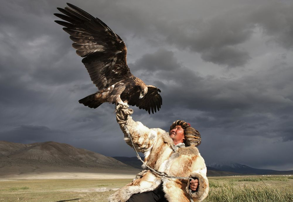Golden Eagle Hunting Tours in the Altai Mountains, Mongolia - Bloomberg