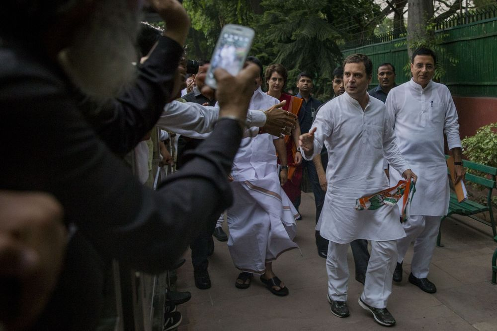 Party That Led India's Independence in Crisis After Modi's Big Win