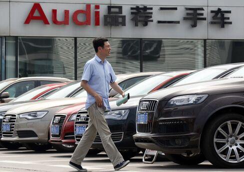 China Audi sales