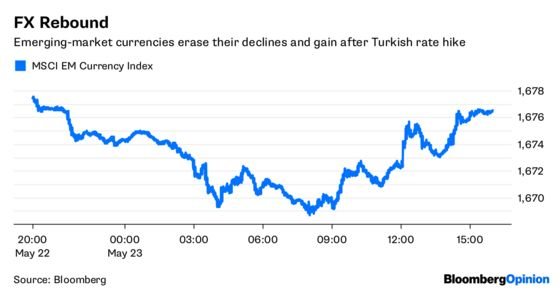 Turkey's Central Bankers Locate Their Spines