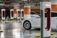 Tesla Dealership and Supercharger Stations