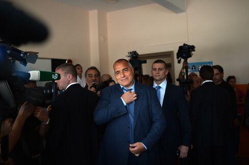 Former Bulgarian Prime Minister Boyko Borissov