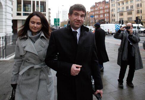 Former Co-Owner of Bankas Snoras AB Vladimir Antonov