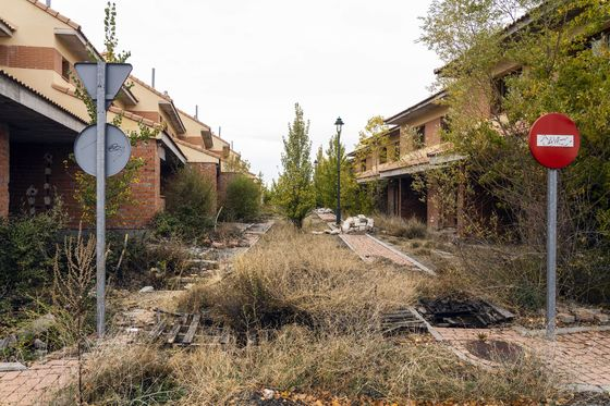 Ghost Towns Still Haunt Spain in Property Rebound a Decade After