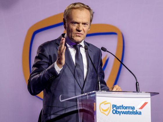 Poland's Civic Platform Gets Small Boost From Tusk Comeback