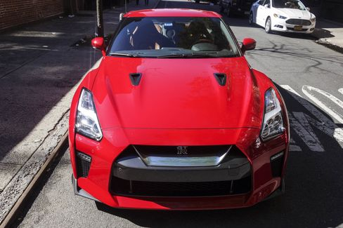 The GT-R comes with all-wheel drive and a six-speed automatic transmission.