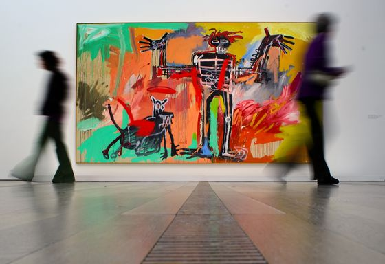 Ken Griffin Buys Basquiat Painting for More Than $100 Million