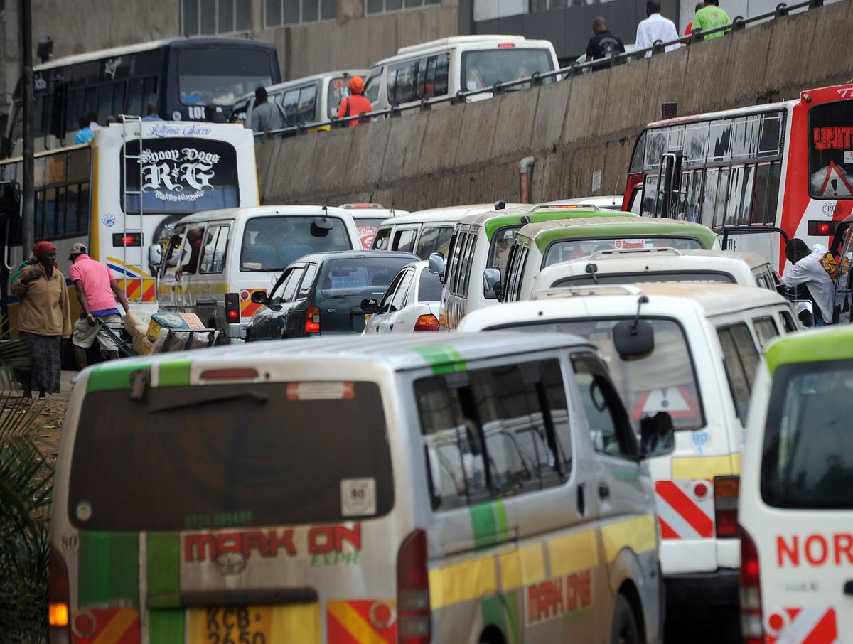 Traffic Jams in Kenya's Capital Bleed $1 Billion From Economy