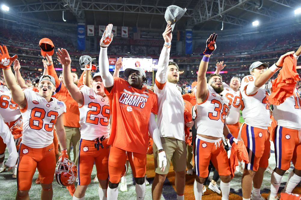 Who Won Lsu Or Clemson >> Clemson To Meet Top Ranked Lsu In College Football Final