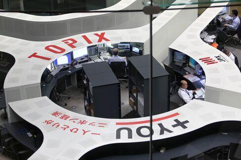 Japanese Stocks Followed U.S. Shares Higher