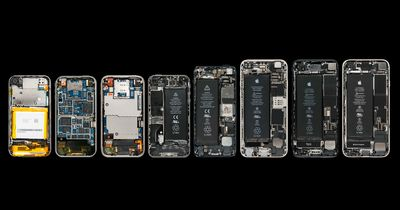 Graphic Whats Inside All The IPhones