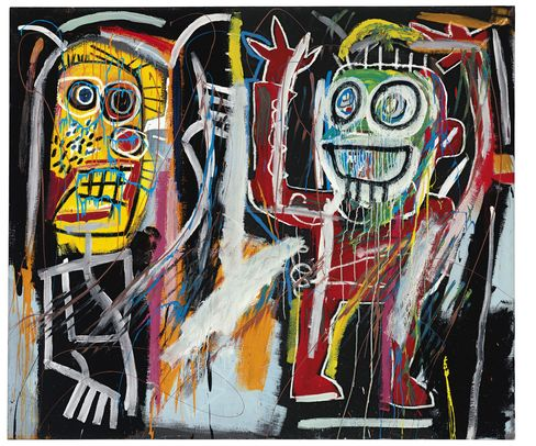 """""""Dustheads"""" by Jean-Michel Basquiat"""