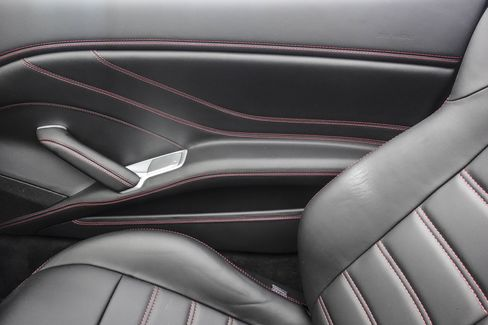 The car comes with contrast stitching and high-quality leather inside.
