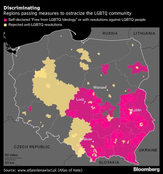 Poland Blinks First in LGBTQ Spat After EU Halts Financing