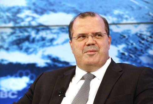 Brazil Central Bank President Alexandre Tombini