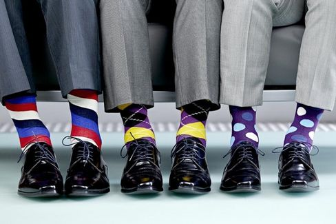 Men's Socks Are Having a $2.8 Billion Moment
